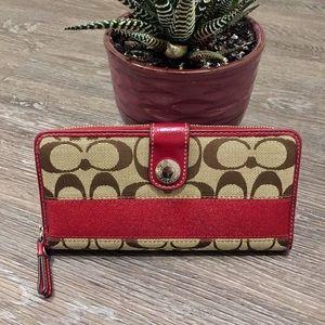 COACH / Authentic signature wallet